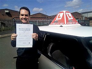 alan fisher first time pass