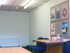 driving test centre room