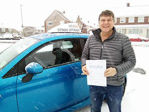 david maughan test pass